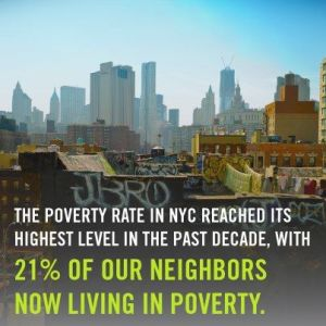 21% living in Poverty