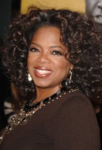 Oprah was born into poverty of a single teenage mother, but she managed to work her way out of poverty