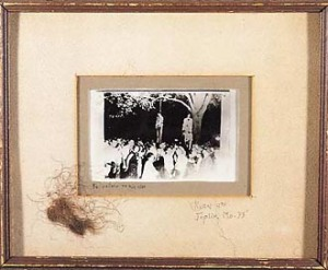 Postcard of the lynching
