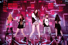 Attire of F(x) during their Electric Shock music video