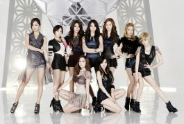 "Girls Generation attire for the music video ""The Boys"" in 2011"