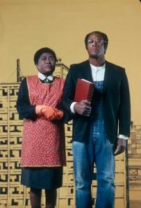 "Florida and James Evans make a play on ""American Gothic""."