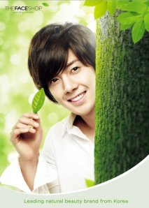 Kim Hyun Joong for The Face Shop
