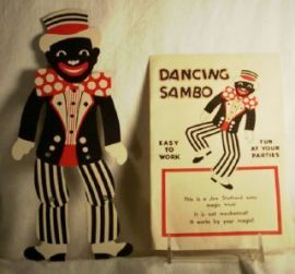 "This ""Dancing Sambo"" doll is found in Ralph Ellison's Invisible Man."