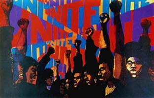 Unite, Barbara Jones (1971) from the Black Arts movement