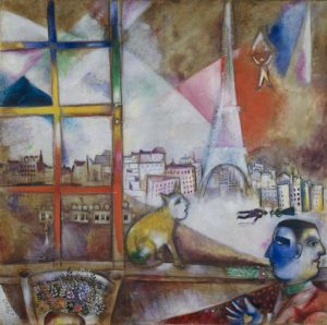 Paris Through the Window, Chagall