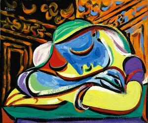 Jeune fille endormie Pablo Picasso