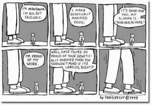 Taylor Beberman: Chris Kelly 1999 Monsanto Comic Strip