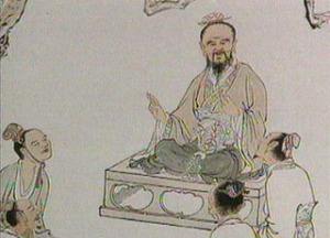 Confucius' teachings indicate that there are five basic relationships amongst individuals: (1)Rule and subject (2)Father and son (3)Elder brother and younger brother (4)Husband and wife (5)Friend and friend.