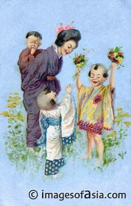Women in Feudal Japan were to maintain their homes and take care of the children.