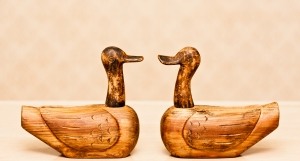 In Korean culture, wood wedding ducks are often given as marriage gifts to the new couple. The belief is that ducks mate for life and when one dies, the other will mourn their loss. Therefore, this gift symbolizes loyalty, fidelity and love.