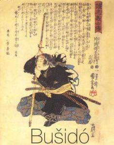 Bushido, the Honor Code of Samurai, which talks about the importance of Honor and Loyalty in Asian culture