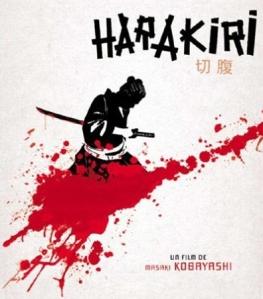 Depiction of a samurai committing seppuku