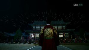 King Sejong goes to confront his father