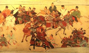 Samurai from feudal Japan