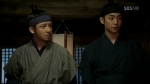 Sung Sam Moon and Park in ninja-like garb