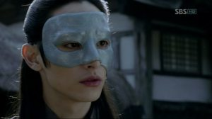 The masked assassin Yoon Pyung