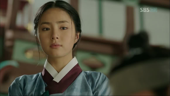 "So-Yi, a principal character from ""Tree with Deep Roots"""